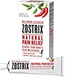 Zostrix Maximum Strength Arthritis Pain Relief Topical Analgesic Cream, Fast Acting Capsaicin Pain Reliever, Odor Free, 2 Ounce Tube