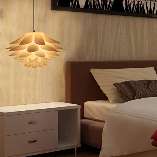 Amazon.com: Excelvan bricolaje lámpara de araña & IQ PVC ...