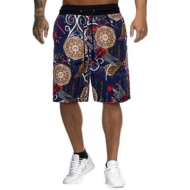 Pantalones Cortos De Lino De Los Hombres PantalóN De Vestir ...