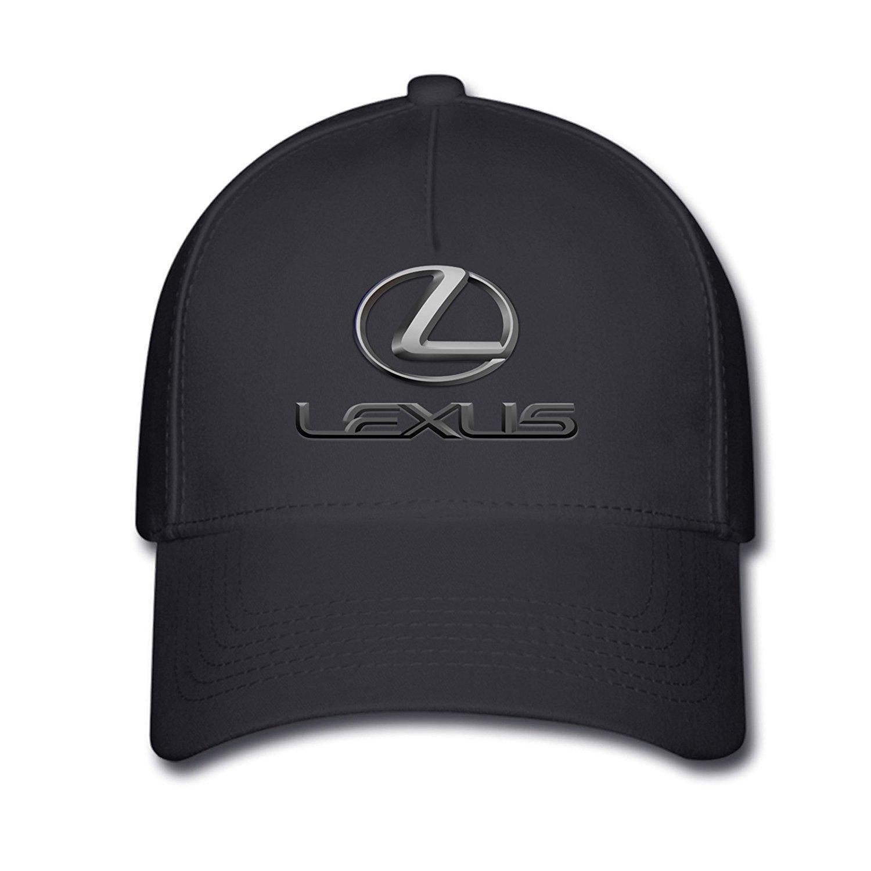 c6203bc27ea2c Huseki Unisex Lexus Classic Logo Baseball Caps Hat One Size Black   Amazon.co.uk  Sports   Outdoors