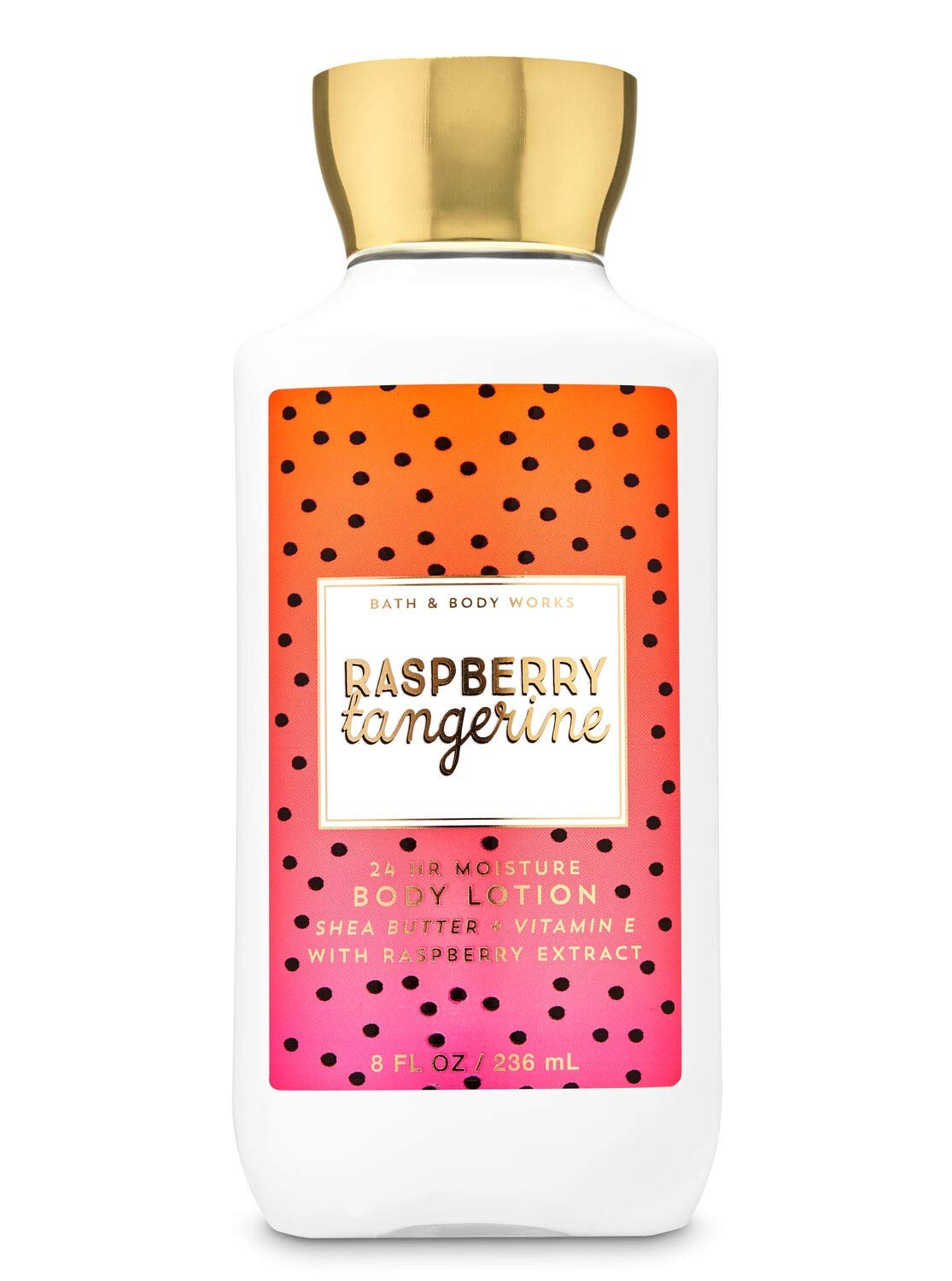 Bath and Body Works Raspberry Tangerine Lotion 8 Ounce Full Size