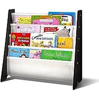 Wooden Non-Toxic Kids Bookshelf Children Bookcase Magazine Rack Organizer Kids Bookshelf for Home Bedroom Furniture…