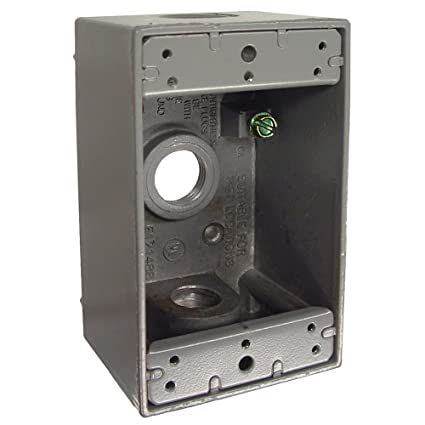 Outstanding Hubbell Bell 5320 0 Single Gang 3 1 2 Inch Outlets Weatherproof Box Wiring Database Lotapmagn4X4Andersnl