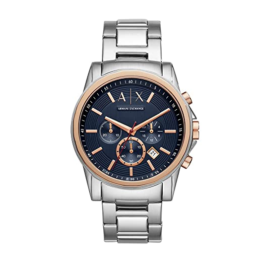 fe6e6565fc2d Buy Armani Exchange Analog Blue Dial Men s Watch - AX2516 Online at Low Prices  in India - Amazon.in