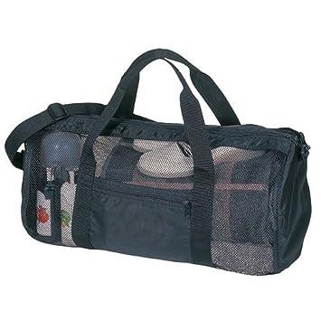 SDI Sport Gym Mesh Roll Bag Black