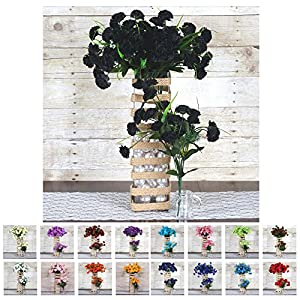 Efavormart 252 Mini Artificial Carnations Wedding Flowers Decoration Supply - 15 Colors 70