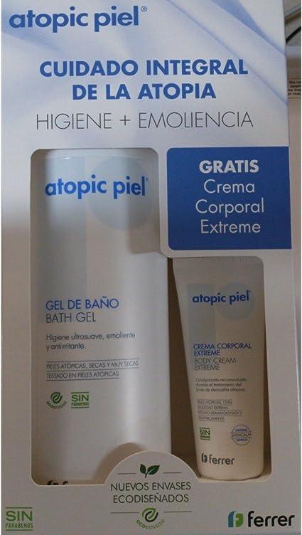 ATOPIC PACK GEL DE BAÑO 750ML + CREMA CORPORAL 50ML: Amazon.es: Belleza