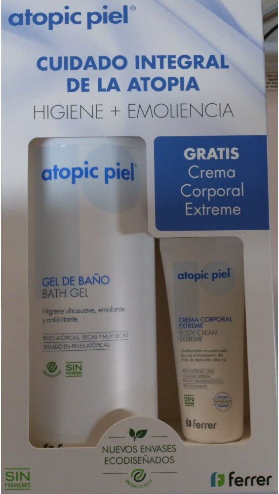 ATOPIC PACK GEL DE BAÑO 750ML + CREMA CORPORAL 50ML: Amazon.es: Belleza