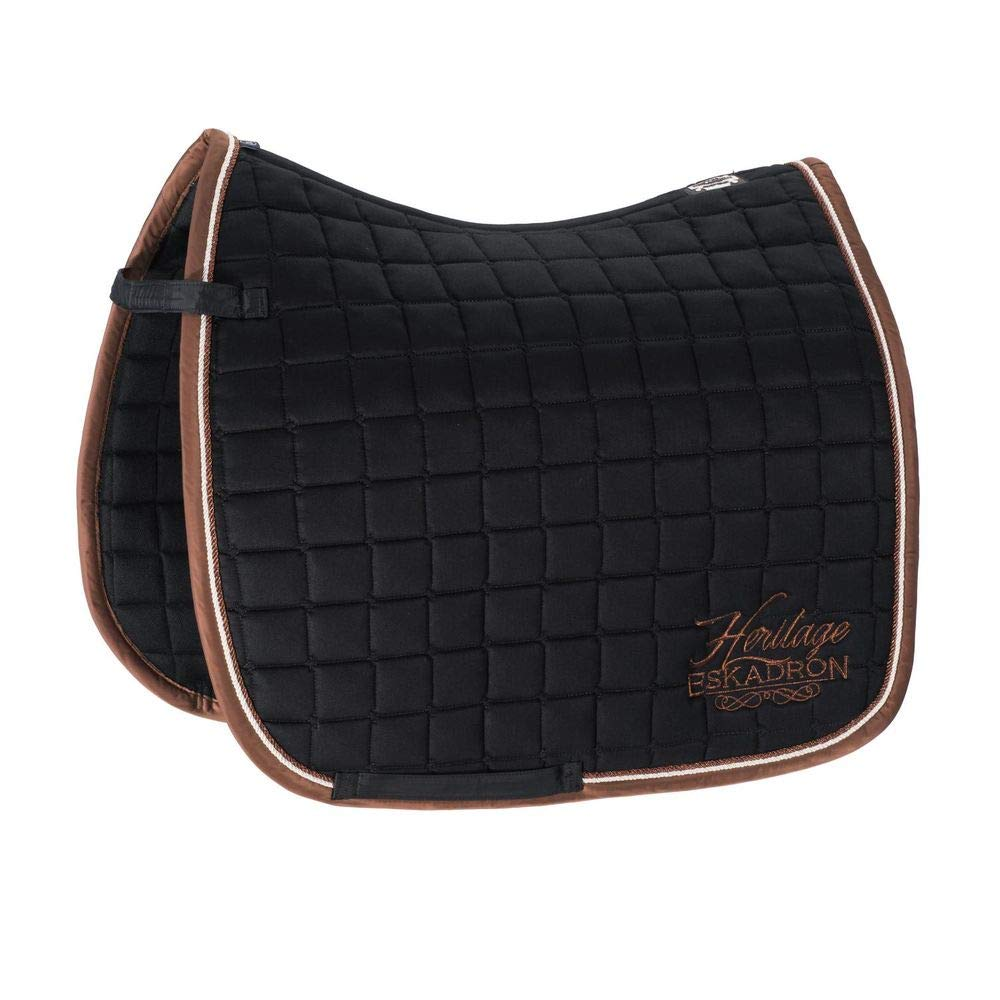 Black bluee Dressage (DL) Black bluee Dressage (DL) Eskadron saddle cloth COTTON BRAND HERITAGE COLLECTION