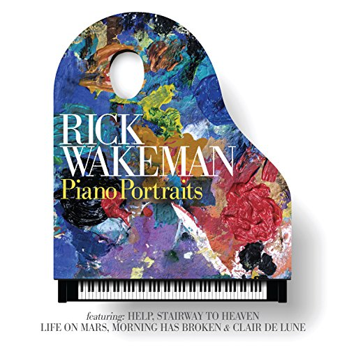 CD : Rick Wakeman - Piano Portraits