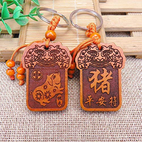 (Handmade Chinese 12 Zodiac Amulets Lucky charm (Certified by USA Astrologer Society) (Ox))