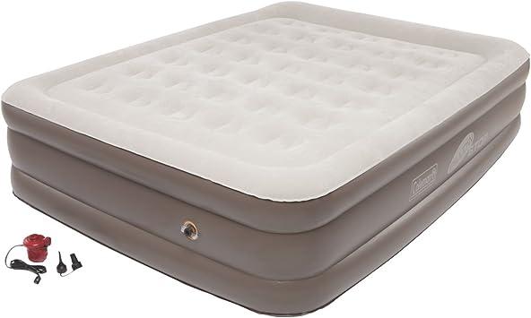 Amazon.com: Coleman SupportRest con PillowStop Cama de aire ...