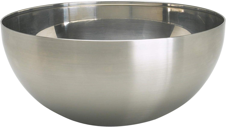 "Ikea Blanda Blank Serving Bowl, 8"", Stainless Steel"
