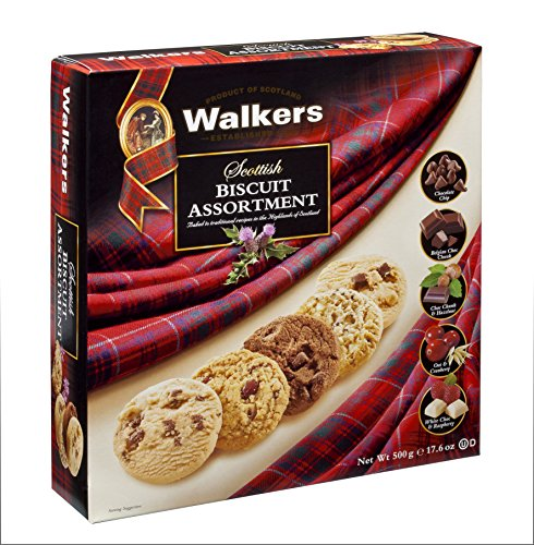 Walkers Shortbread Scottish Biscuit Assortment, 17.6-Ounce Boxes (Pack of 2)