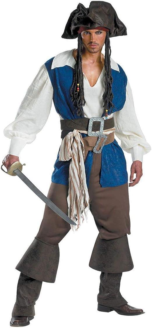 GAOJUAN Nueva Disfraces De Halloween para Adulto Disfraz De Pirata ...