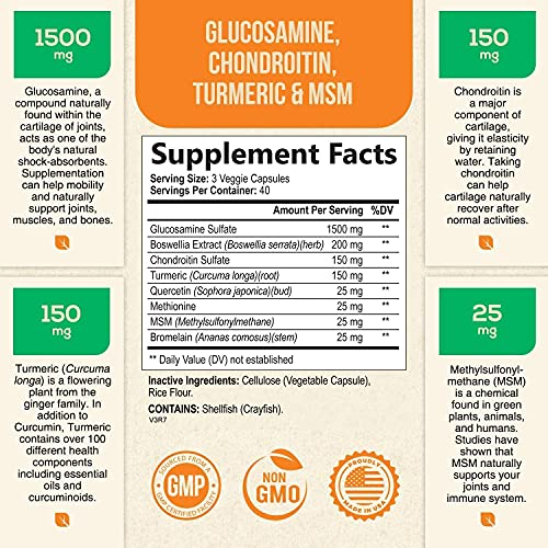 Conjointon Glucosamine and