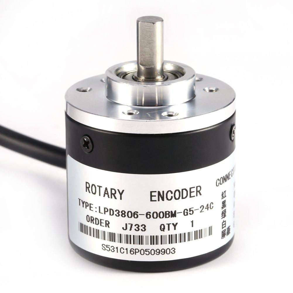 fase DC 5-24v-2 Encoder rotativo 100P // R modulo encoder incrementale incrementale per il controllo intelligente di varie misure di spostamento