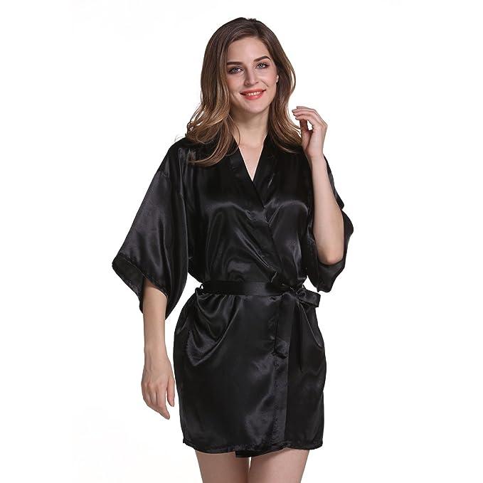 Libing Batas de Encaje Ligero de Verano para Mujeres Kimono Nightwear: Amazon.es: Ropa y accesorios