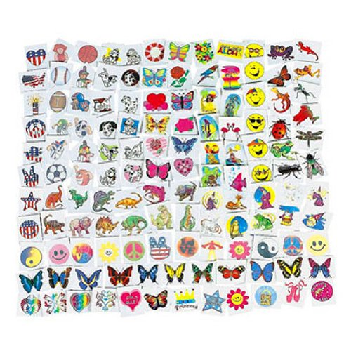 Mega Tattoo Assortment 1500 pc
