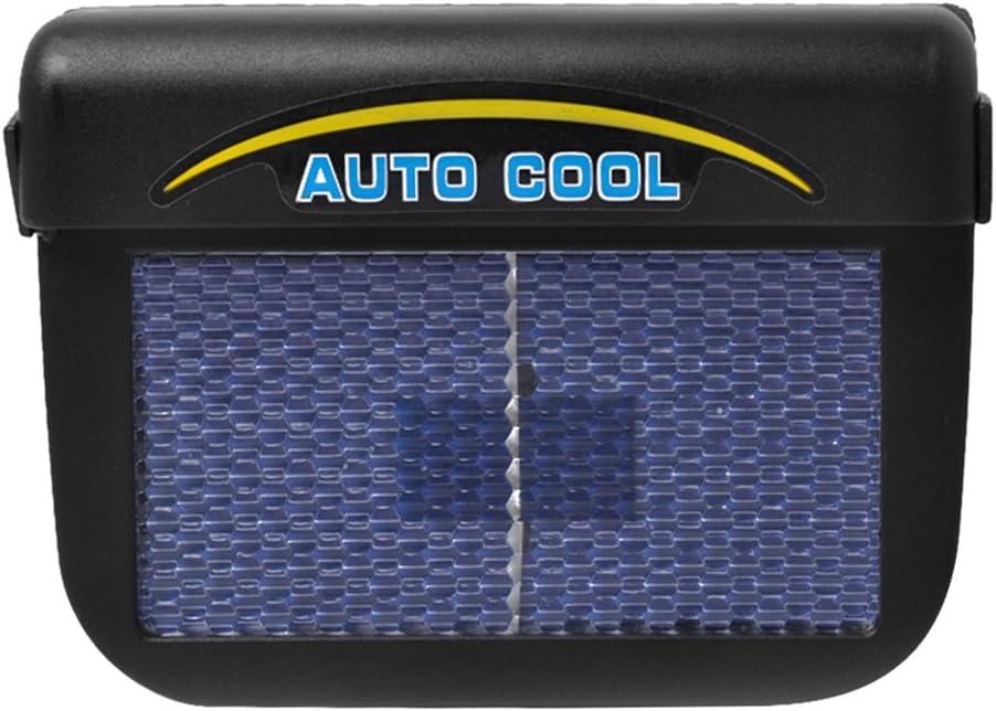 A Car Cool Fan Auto Solar Powered Car Window Air Vent Cooling Fan Ventilation Cooler Radiator Vent Exhaust Fan Amazingdeal365 AMAZING DEAL Air Cooler