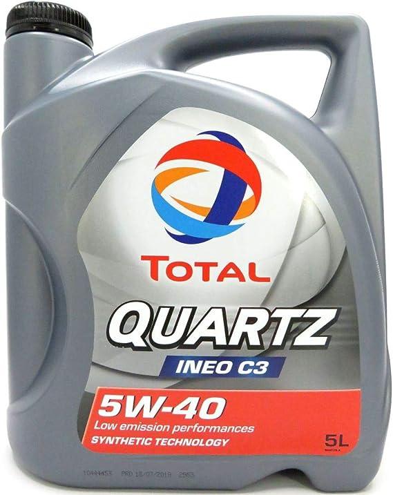 Total 5 Litre Quartz Ineo C3 5w 40 Auto