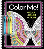Color Me! Coloring Book with Gel Pens