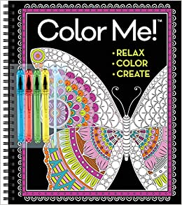 Color Me! Coloring Book with Gel Pens: New Seasons, Publications ...