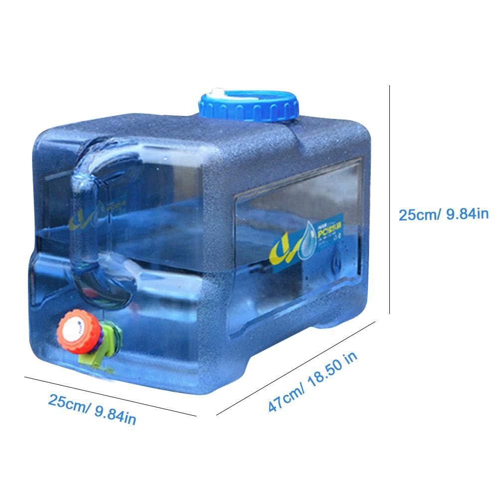 perfecti 22L Camping Wasserkanister Tragbarer mit Deckel Zapfen BPA-frei Kunststoff Auto Wasserbeh/älter Camping Wassertank f/ür Fahrzeug Camping Picknick Outdoor BBQ und Lange Reise