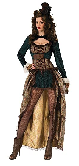 Steampunk Costume Essentials for Women Madame Steampunk Cosume $49.10 AT vintagedancer.com