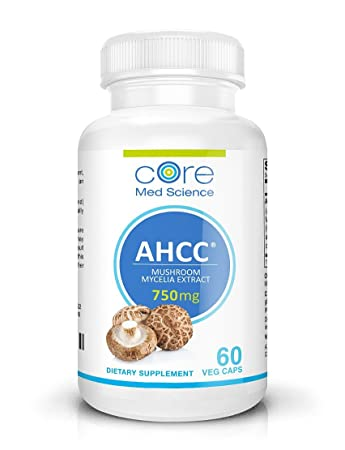 Extra Strength AHCC 1500 mg per dose (750 mg capsule) | Immune System  Booster Supplement | Highly