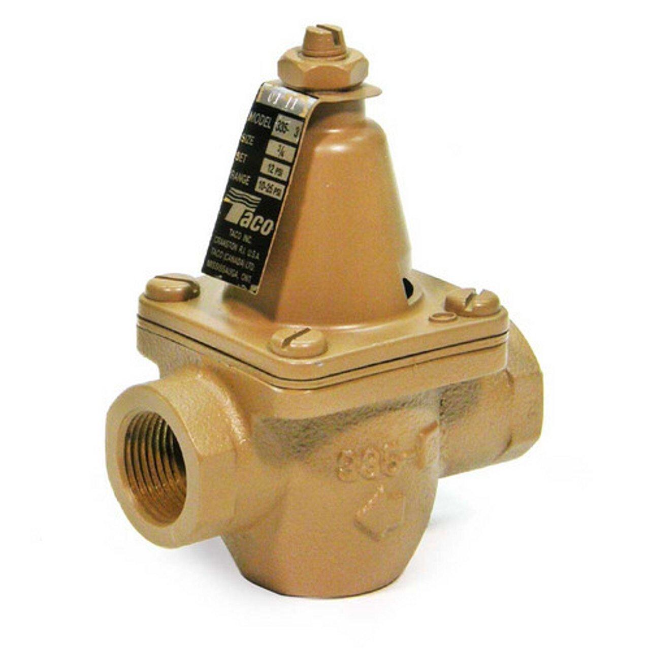 Taco T335-3 3/4-Inch Pressure Reducing Valve Bronze