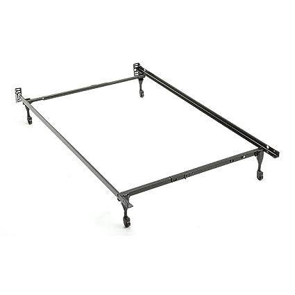 Sentry Metal ajustable marco de la cama - Twin/full: Amazon.es: Hogar