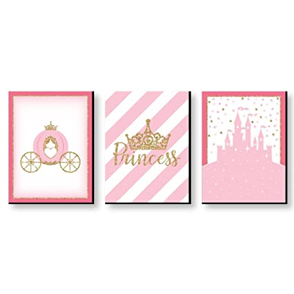 Amazon.com: Little Princess Crown - Castle Nursery Wall Art & Kids ...