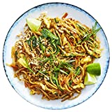 Martha & Marley Spoon, Vegetarian Pad Thai with Carrots and Salted Peanuts Meal Kit, Serves 2