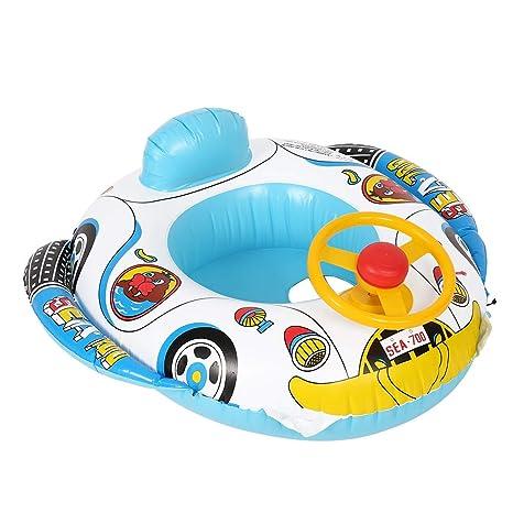 El círculo Inflable del Nadador del bebé de Wocume, niños ...
