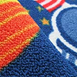 FADFAY Outer Space Kids Rug Cute Kids Room Carpet