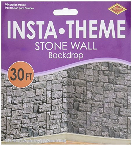 Beistle Stone Wall Scene Setter for $<!--$11.90-->
