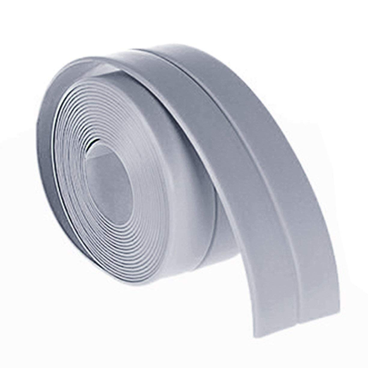 A Roll Of Kitchen Bathroom Bathtub Wall Sealing Tape, 38mm * 3.2M Home Kitchen Bathroom Bathtub Waterproof Wall Sealing Tape Strip Mildew Resistant Self Adhesive Tape For Sink Basin Detectoy