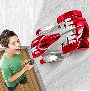 MMTX Wall Climbing RC Stunt Car Walls Escalador Vehículo Rocket eléctrico Mini Gravedad Cero Control Remoto Juguetes de Coche niños, niños, Adolescentes, Adultos
