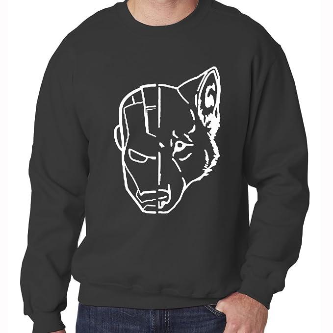 Casa de Stark Juego de Tronos sudadera para hombre de dibujo de cabeza de Iron Man: Amazon.es: Ropa y accesorios