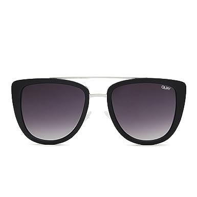 Quay Australia FRENCH KISS Women s Sunglasses Oversized All Occasions -  Black Smoke ce533cae3