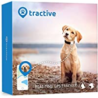 tractive GPS Peilsender für Hunde und Katzen - wasserdichter mini Tracker - der Sender fürs Halsband