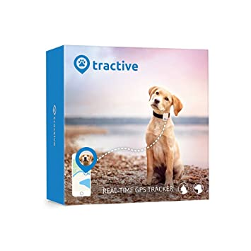 Tractive GPS Tracker for Dogs and Cats - waterproof pet finder ... on