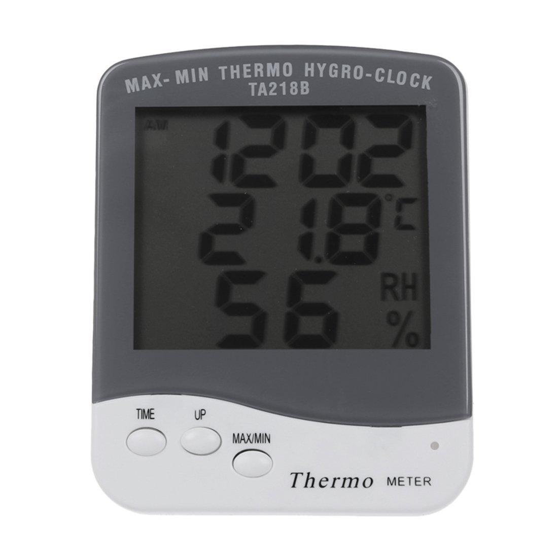 TOOGOO (R)TechCode Termometro igrometro sveglia LCD digitale SPAGT46751