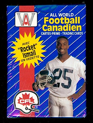1991 AW Sports CFL Canadian All World Football Complete Box Set French