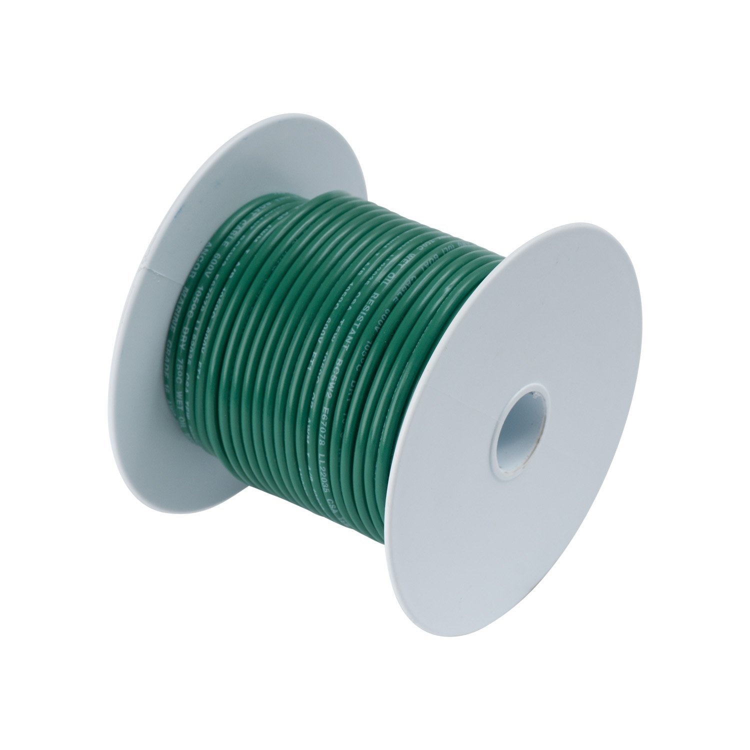 Calterm 50163 Electrical Primary Wire 16 AWG Green 30 ft.