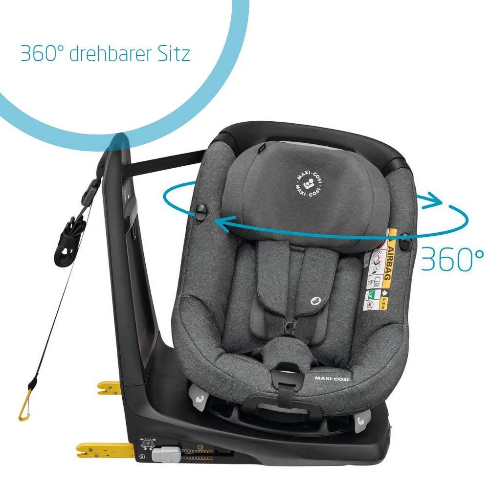 Maxi-Cosi AxissFix-Kleinkindersitz grau 4 Jahre 61-105 cm Sparkling Grey drehbarer Kindersitz 4 Monate