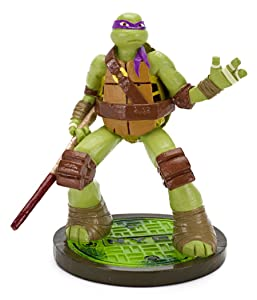 Penn Plax Teenage Mutant Ninja Turtles Donatello Aquarium Ornament, Mini