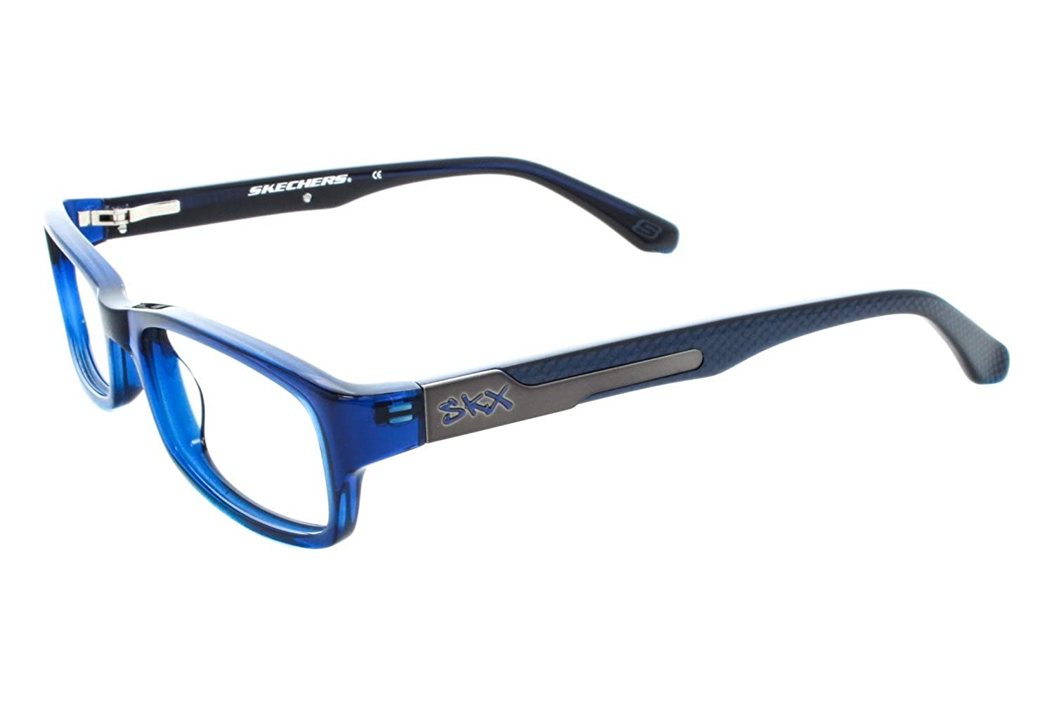 65cadeb159 Amazon.com  Skechers SK 1061 Childrens Eyeglass Frames - Dark Blue Crystal   Clothing
