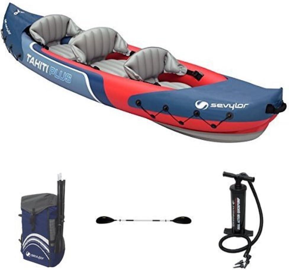 1 Personen Kajak Kanu Schlauchboot Sevylor Adventure Plus für 2